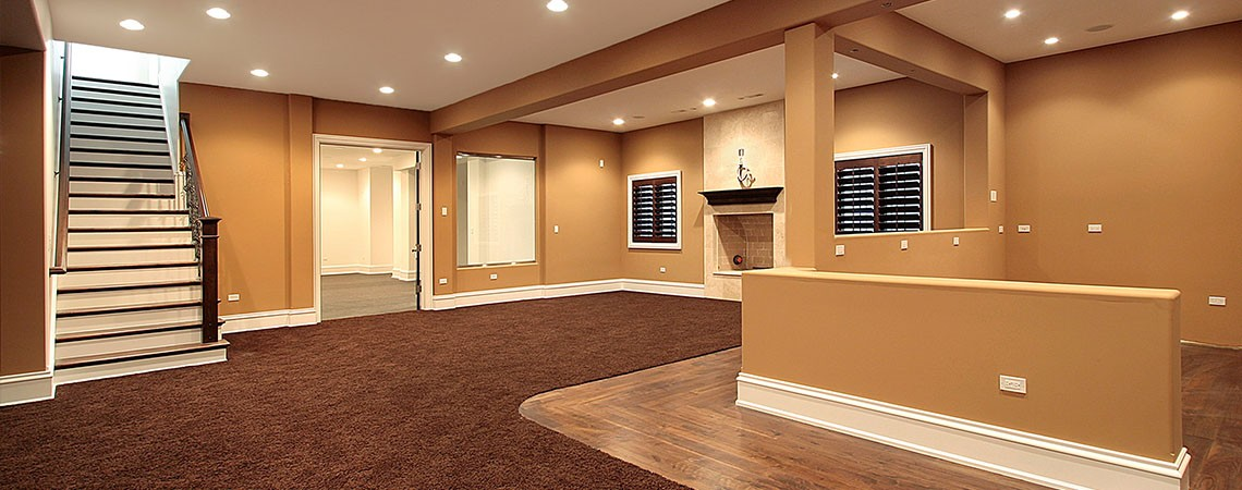 A basement remodel and reviews discuss