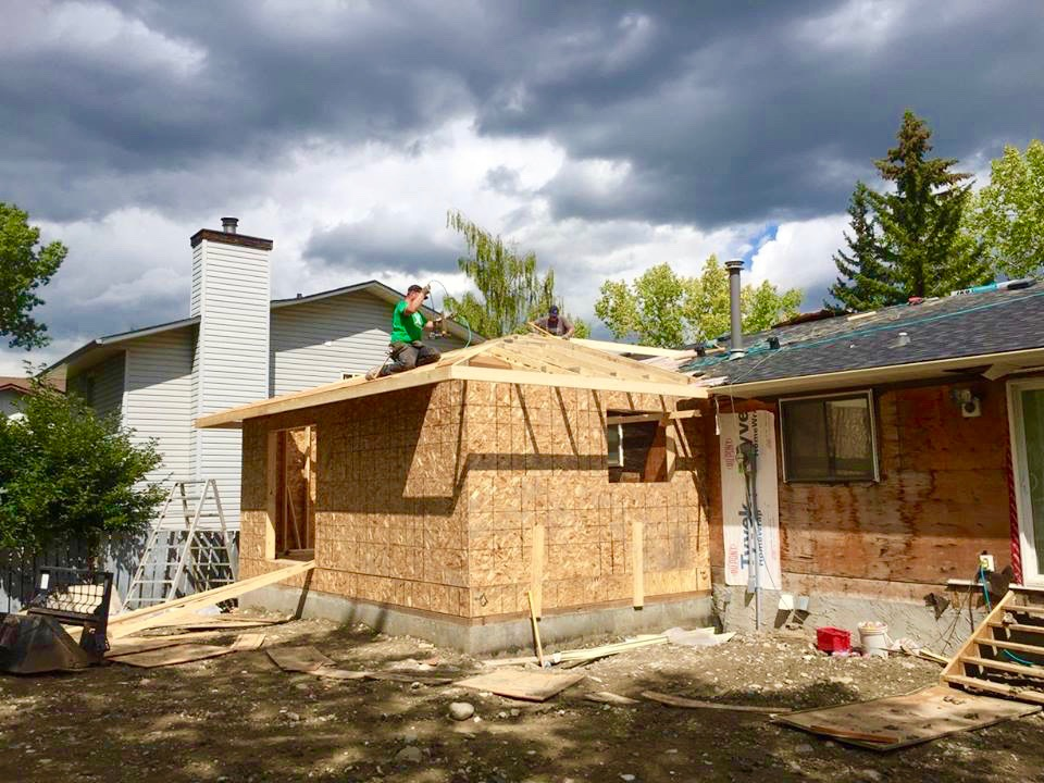 Bedrock Construction is your Calgary garage builders.