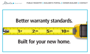 Government of Alberta New Home Warranty