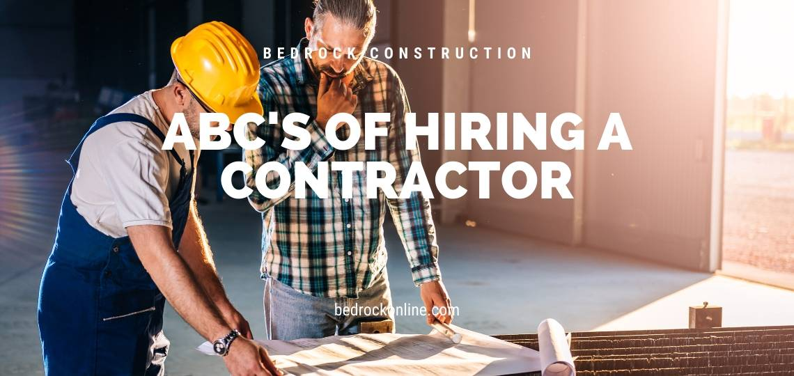 ABC's of Hiring a contractor Garage windows
