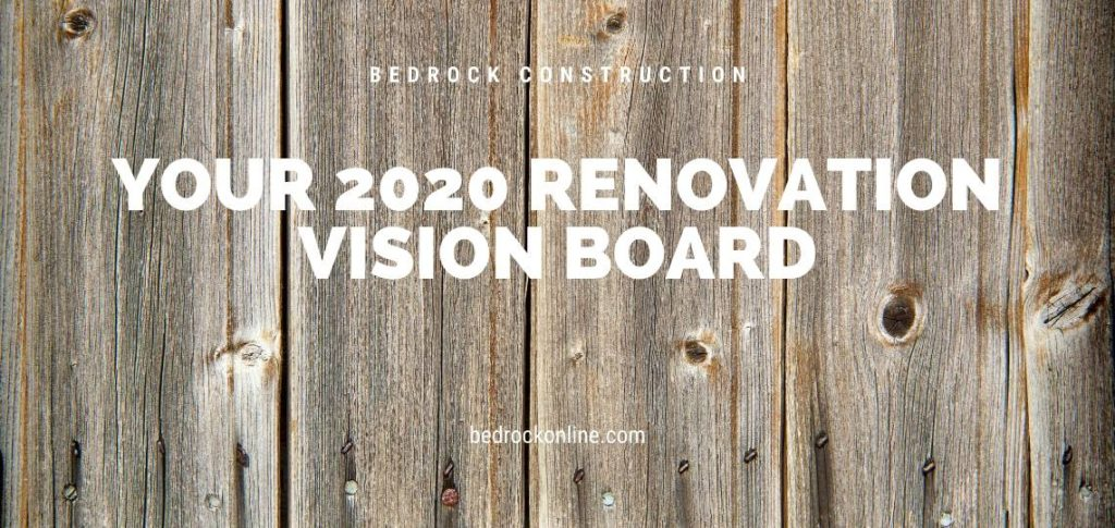 2020 renovation vision board