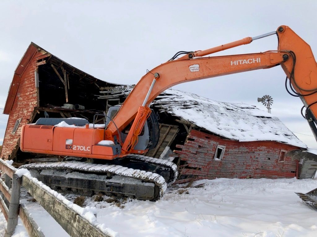 Calgary Demolitions by Bedrock Construction