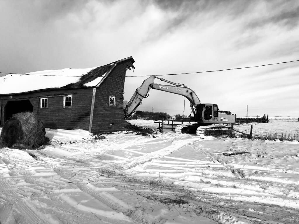 Calgary Demolition Services by Bedrock Construction