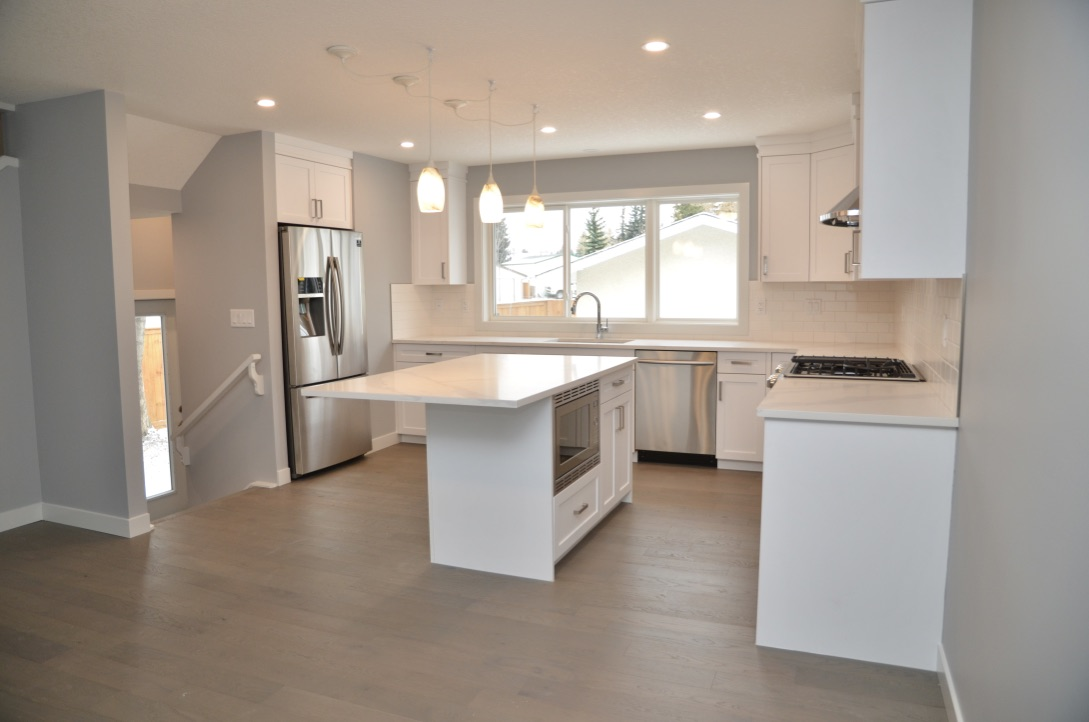 Bedrock Construction - completed project - full kitchen renovations