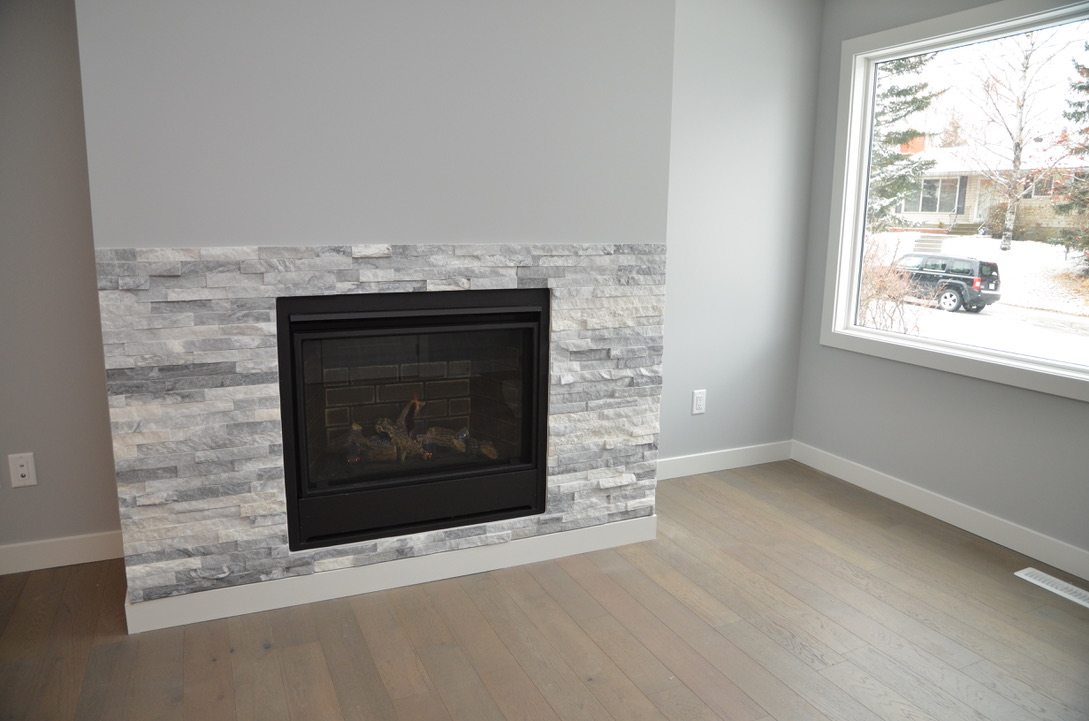 Bedrock Construction - fireplace renovation