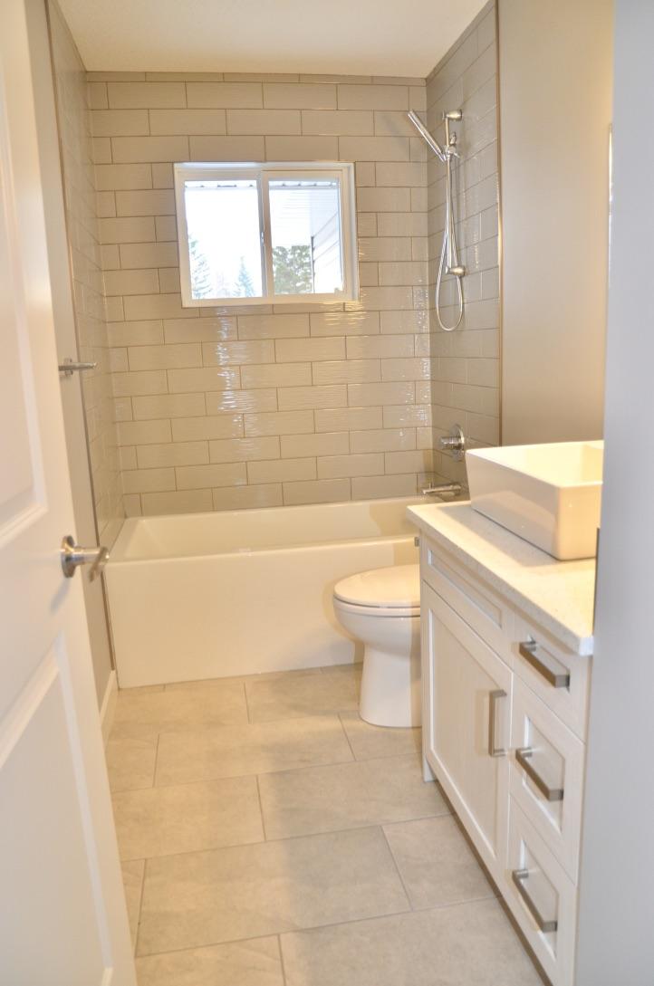 Bedrock Construction - half bath renovation