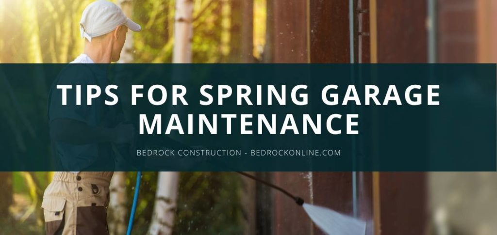 Tips for Spring Garage Maintenance
