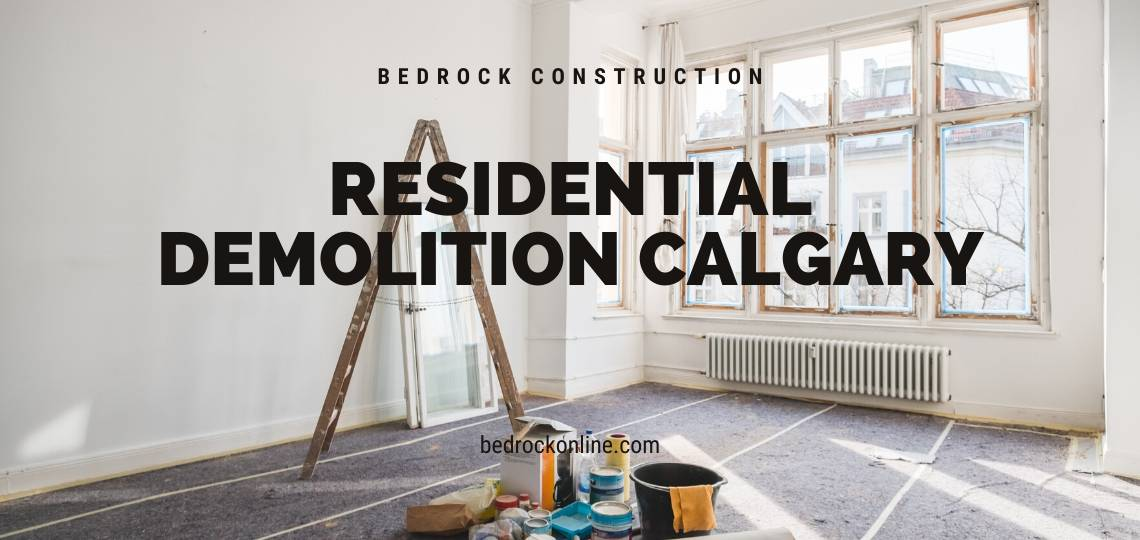 residential demolition calgary