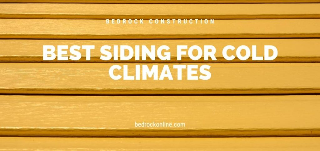 best siding for cold climates