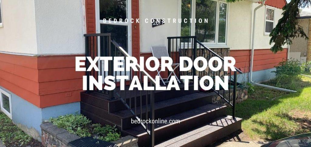 exterior door installation calgary