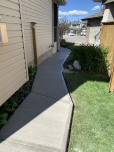 concrete calgary sidewalk