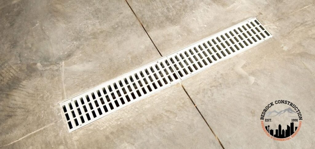 Calgary Concrete Contractors Garage drainage