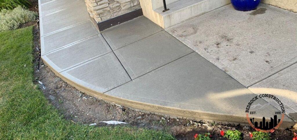 concrete sidewalk calgary contractors