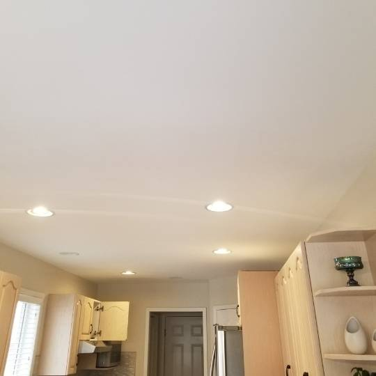 popcorn textured ceilings paint grade