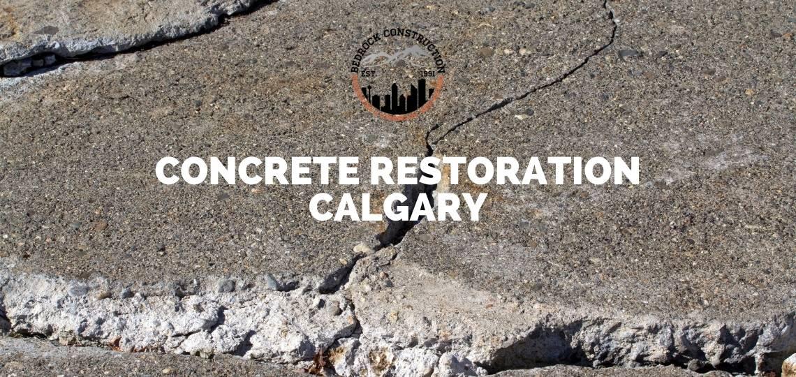 Concrete Restoration Calgary
