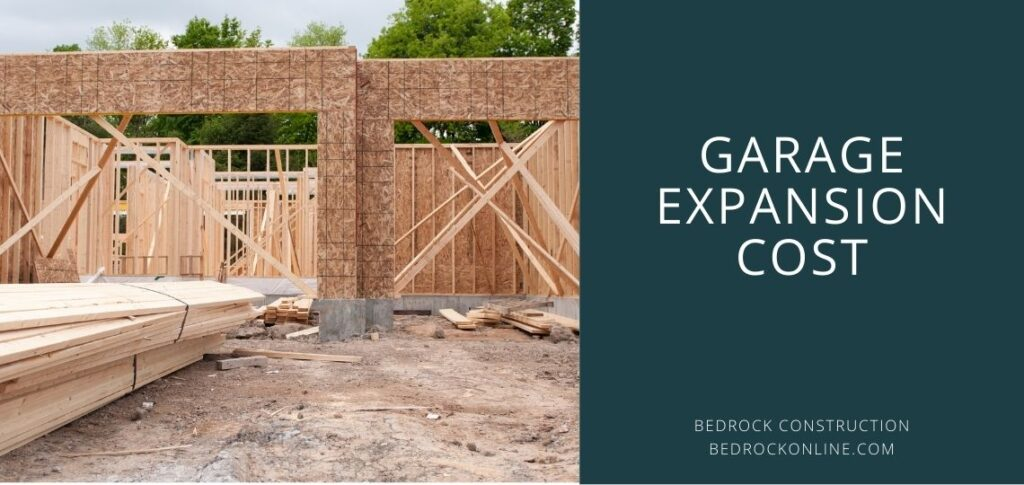 Garage expansion cost
