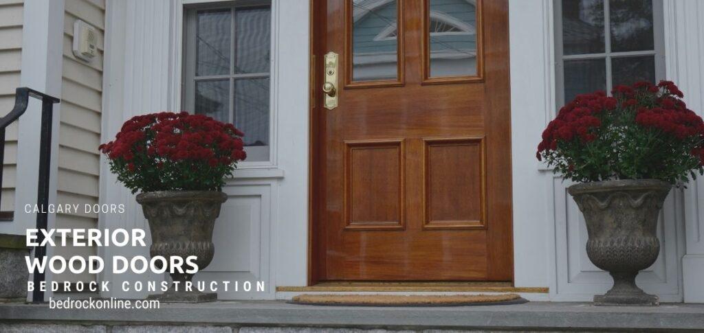 exterior wood doors calgary
